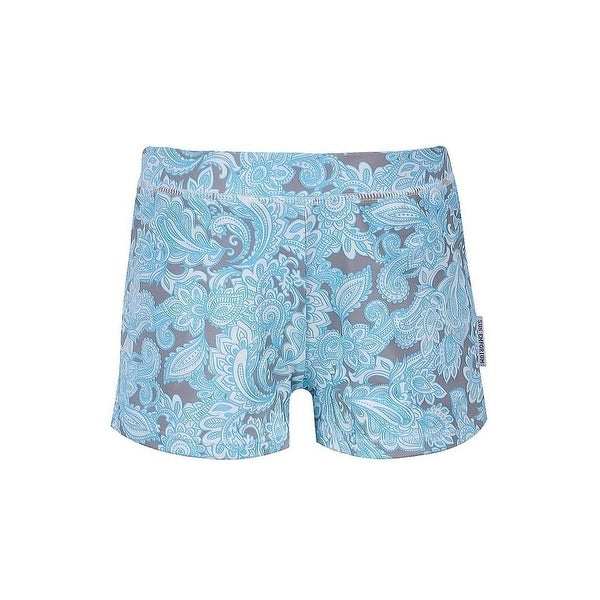 Sun Emporium Baby Boys Multi Color Ikat Sun Protective Euroleg Shorts