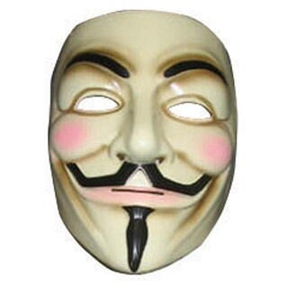 V For Vendetta Mask for Halloween Costume