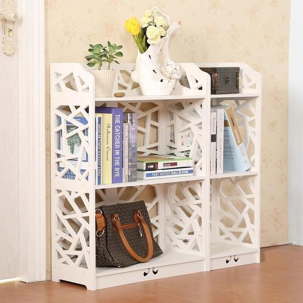 3/4/5 Tier Space Saving Storage Cabinet Organizer Shoe Rack BookShelf