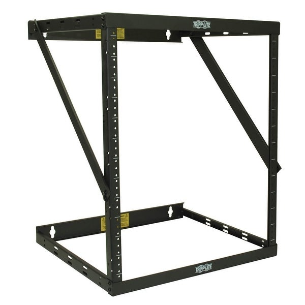 Tripp Lite Srwo8u22 Smartrack 8U/12U/22U Expandable Flat-Pack Low-Profile Switch-Depth Wall-Mount 2-Post Open Frame Rack