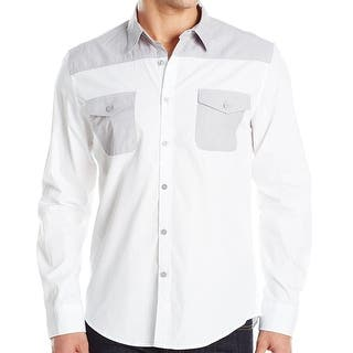 Kenneth Cole Reaction NEW White Mens Size Large L Button Down Shirt|https://ak1.ostkcdn.com/images/products/is/images/direct/11b789990c58399cfa9d24bca27cc98f87cb2253/Kenneth-Cole-Reaction-NEW-White-Mens-Size-Large-L-Button-Down-Shirt.jpg?impolicy=medium