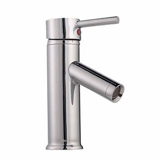 "Bathroom Faucet Single Hole 1 Handle Chrome Plated Brass 7"" Renovator's Supply"