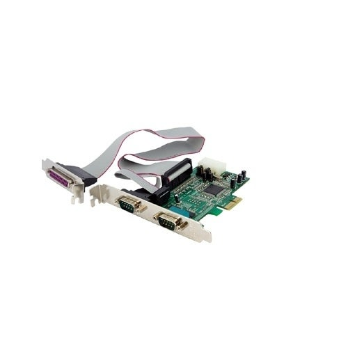 Startech Pex2s5531p 2S1p Native Pci Express Parallel Serial Combo Card With 16550 Uart