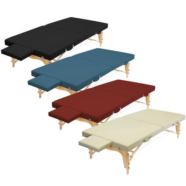 Saloniture Portable Massage Table Low to Ground Stretching Treatment Platform