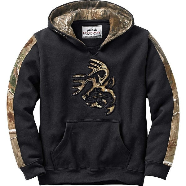 Legendary Whitetails Youth Camo Outfitter Hoodie