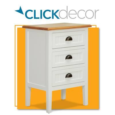 ClickDecor Martin Cabinet, White