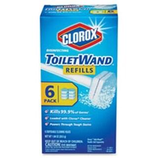 Clorox Disinfecting Toilet Wand Kit Refills, 48 Per Carton