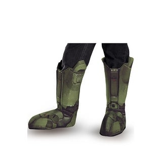 Disguise Master Chief Child Boot Covers - Green