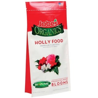 Jobe's 09827 Organics Holly Plant Food, 4 Lbs|https://ak1.ostkcdn.com/images/products/is/images/direct/11be46872356257a0e271a34c8574f4269bd3a78/Jobe%27s-09827-Organics-Holly-Plant-Food%2C-4-Lbs.jpg?impolicy=medium