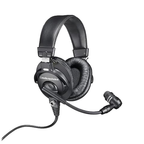 Audio-Technica Broadcast Stereo Headset with Dynamic Cardioid Boom Mic