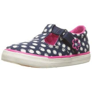 Keds Daphne T-Strap Hook & Loop Sneakers Shoes - 10 m us toddler