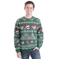 Holiday Catz Adult Ugly Christmas Sweater