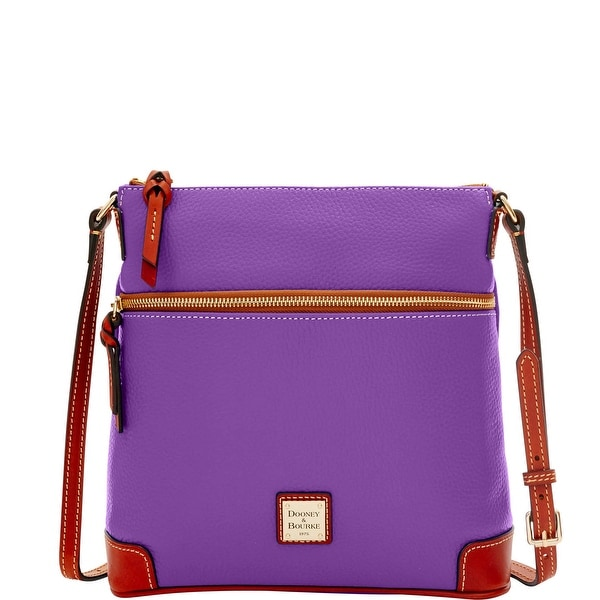 Dooney & Bourke Pebble Grain Crossbody (Introduced by Dooney & Bourke at $188 in Sep 2016) - Violet