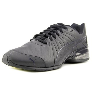 Puma Cell Kilter Men  Round Toe Leather Black Sneakers