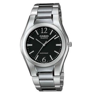 Link to Casio Men's MTP-1253D-1A 'General' Stainless Steel Watch - Black Similar Items in Men's Watches
