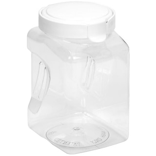 Snapware 1098537 Square-Grip Medium Canister, 64 oz