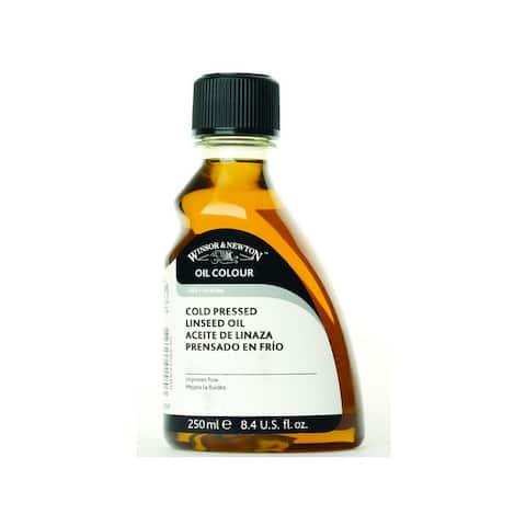 Winsor & newton / colart 3239747 linseed oil cold pressed 250ml