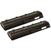 Replacement 4400mAh HP 586006-361 Battery For G42 / G62 100 / G62 105SA Laptop Models (2 Pack)