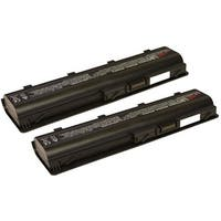 Replacement 4400mAh Laptop Battery for HP 586006-361 / Envy 17 1000 / Pavilion G4 1000 - 2 Pack