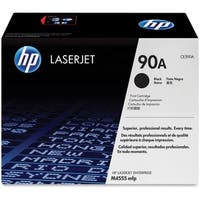 HP 90A Black Original LaserJet Toner Cartridge (CE390A)(Single Pack)
