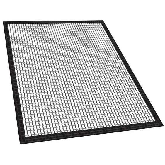 Masterbuilt 20091113 Fish & Vegetable Smoker Mat, Black, 2 Piece