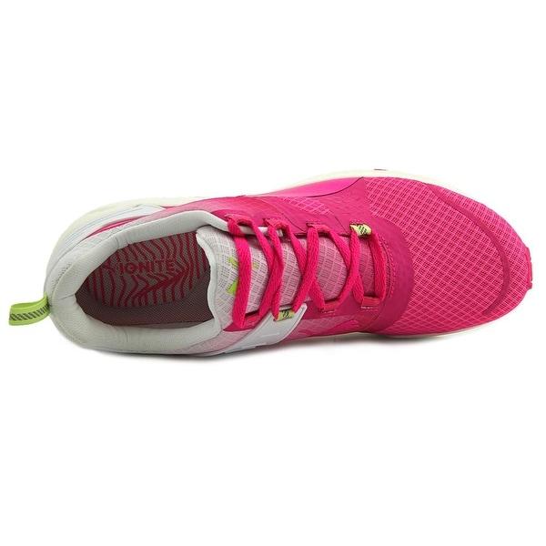 Pink Gio-Puma White-SG Running Shoes