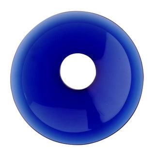 Replacement Waterfall Faucet Glass Disc Plate Dark Blue Renovator's Supply