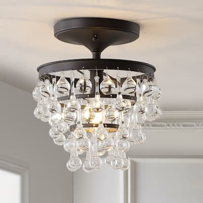 Toronto Metal LED Flush Mount, Oil Rubbed Bronze by JONATHAN Y