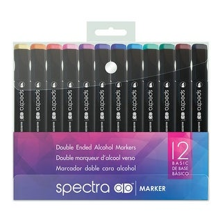 Chartpak - Spectra AD Marker Set - 6-Color Set