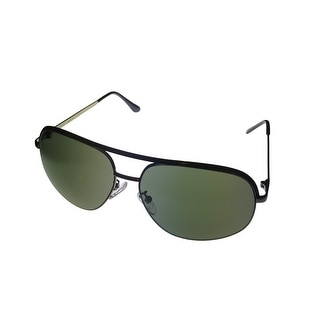 Timberland Mens Sunglass Black Metal Aviator,Smoke Lens TB7130 8N - Medium