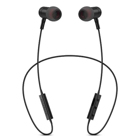 Naztech Alloy Bluetooth Wireless Magnetic Earphones Black (13680)