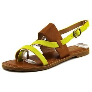 Restricted Kayla Women Open Toe Synthetic Sandals