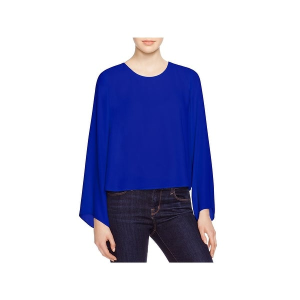 Vince Camuto Womens Blouse Chiffon Bell Sleeves