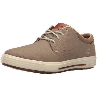 Skechers USA Men's Porter Zevelo Oxford, Khaki