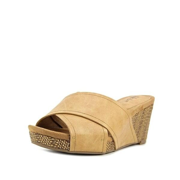 Style & Co Jillee Crisscoss Slide Wedge Sandals - 11 b(m)