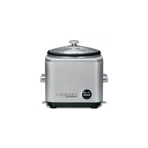 Cuisinart CRC-800 Warm & Cook Settings 8-Cup Rice Cooker w/ Indicators