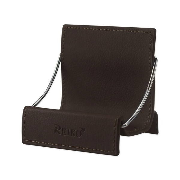 REIKO UNIVERSAL PHONE STAND HOLDER IN BROWN
