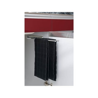 "Rev-A-Shelf 563-47 563 Series 3 Prong Towel Bar with 12"" Slides - N/A"