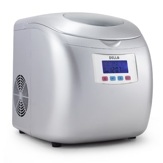 Della Portable High Capacity Household Ice Maker w LCD Display Yield Up To 26 Pounds of Ice Daily 3 Cube Sizes Silver?imwidth=320&impolicy=medium freezers & ice makers shop the best deals for dec 2017 Maytag Ice Maker Wiring-Diagram at edmiracle.co