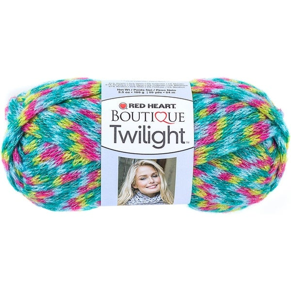Red Heart Boutique Twilight Yarn-Pixie - Pink