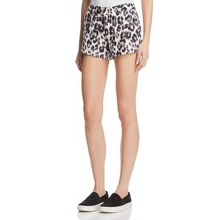 Joie Womens Merci Shorts Linen Animal Print - 2