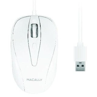 Macally Turbo 3 Button Optical Usb Mouse