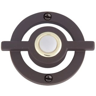 Atlas Homewares DB643 Avalon Lighted Button Doorbell