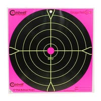 Caldwell 317536 caldwell 317536 orange peel 12 bulls-eye: 5 sheets, pink