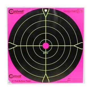 Caldwell 317536 caldwell 317536 orange peel 12 bulls-eye: 5 sheets, pink
