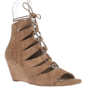 Sam Edelman Santina Gladiator Wedge Sandals, Oatmeal