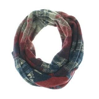 Denim & Supply Ralph Lauren Womens Winter Scarf Southwestern Pattern - o/s