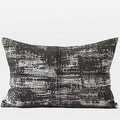 """G Home Collection Luxury Brown Mix Color Metallic Chenille Pillow 14""""X20"""" - Thumbnail 0"""