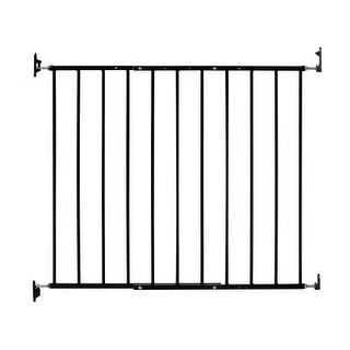 "Kidco Safeway Wall Mounted Pet Gate Black 24.75"" - 43.5"" x 30.5"""