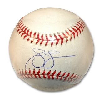 Autographed Andruw Jones National League Baseball